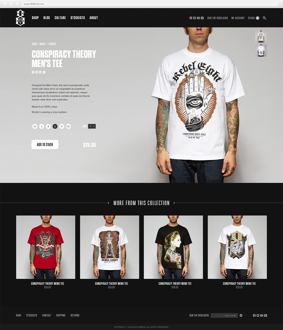 REBEL8 Product Page